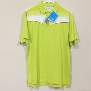 Columbia Golf Polo Shirt Medium